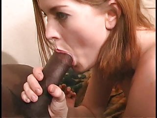Teen hottie fits a big black cock in her ass