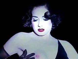 SLAVE TO LOVE - erotic retro glamour striptease music video