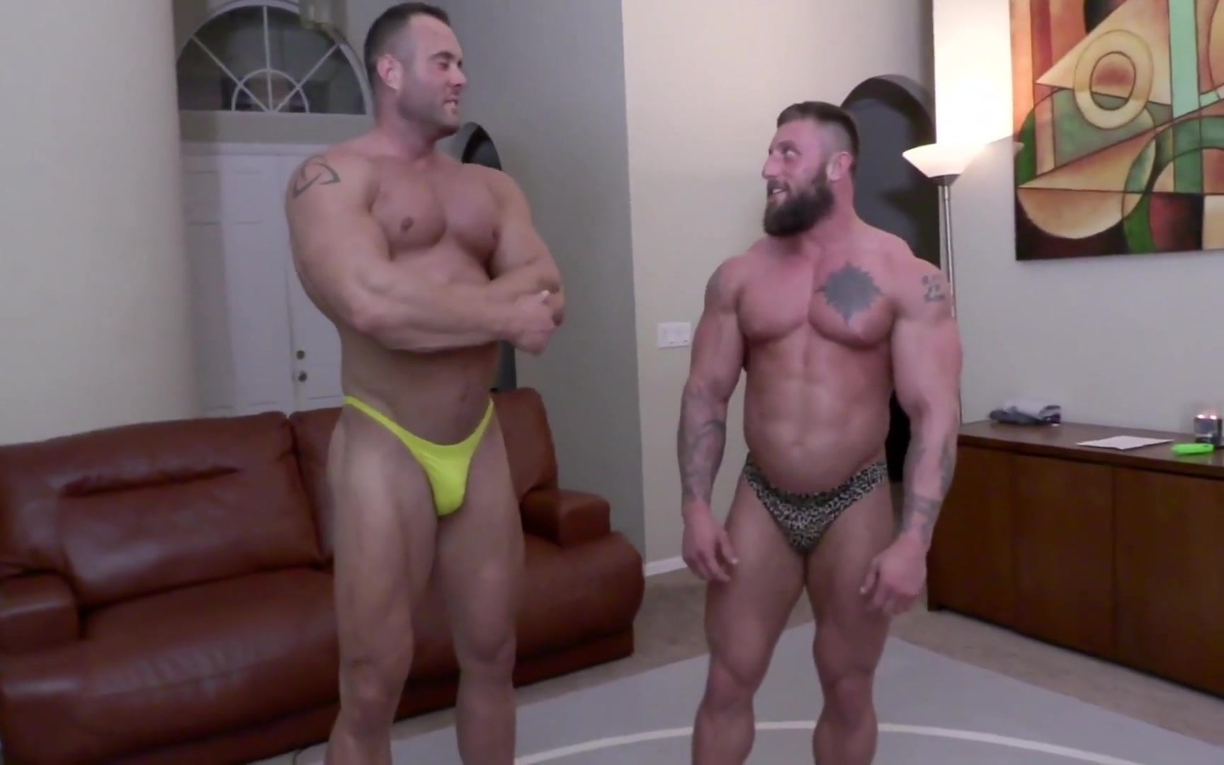Muscle Gay Video