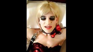 Submissive CD Whore Leg Spreader Fuck