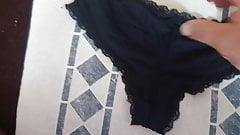 Cum on stolen panty of neighbour teen girl