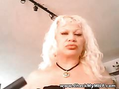 Check My MILF granny with huge tits torture play
