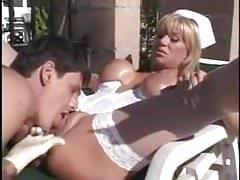 Sexy busry milf nurse