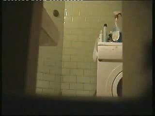 Great view of NOT my nice sister in toilet. Hidden cam