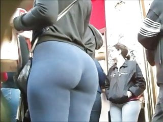 Hot Latina Girl in Tight Yoga Pants 3