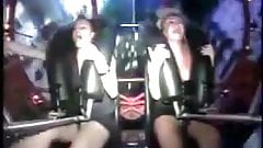 Orgasm in the amusement park's Thumb