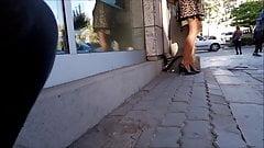 Turkish Banker Girl Pantyhose Legs 4