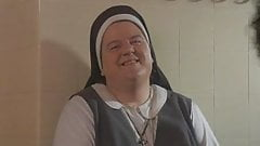 Transvestites nuns sneak into Catholic girls shower!