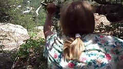 Husband Fucks Mature Milf on Hike