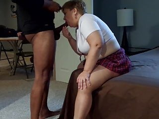 Myself. my BULL Marcus and his big cock in my mouthpart 2