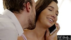 Karlee Grey Surprised With it`s very HOT  Sex While Moms On Phone S5:E9
