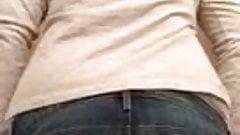 My ex gf shows me her ass part 3