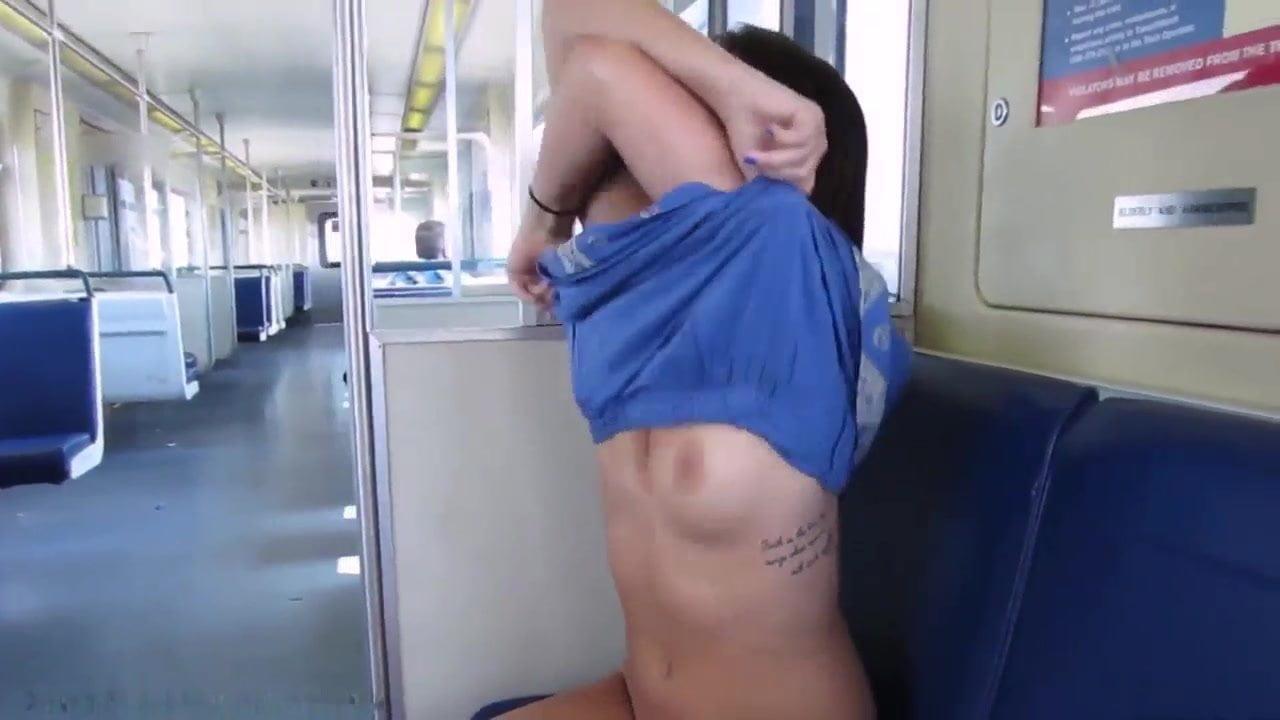 Girl Flashing In Public Train, Free Free Train Hd Porn 1E-2896