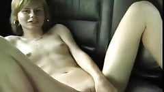 Slim Teen Dildoing In Car VR88