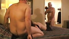 join. muscled interracial gay threesome fuck can not