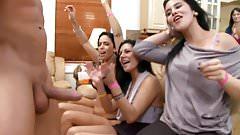 CFNM Oral Sex Party