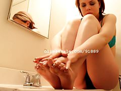 Foot Fetish - Kristy Feet Video 4