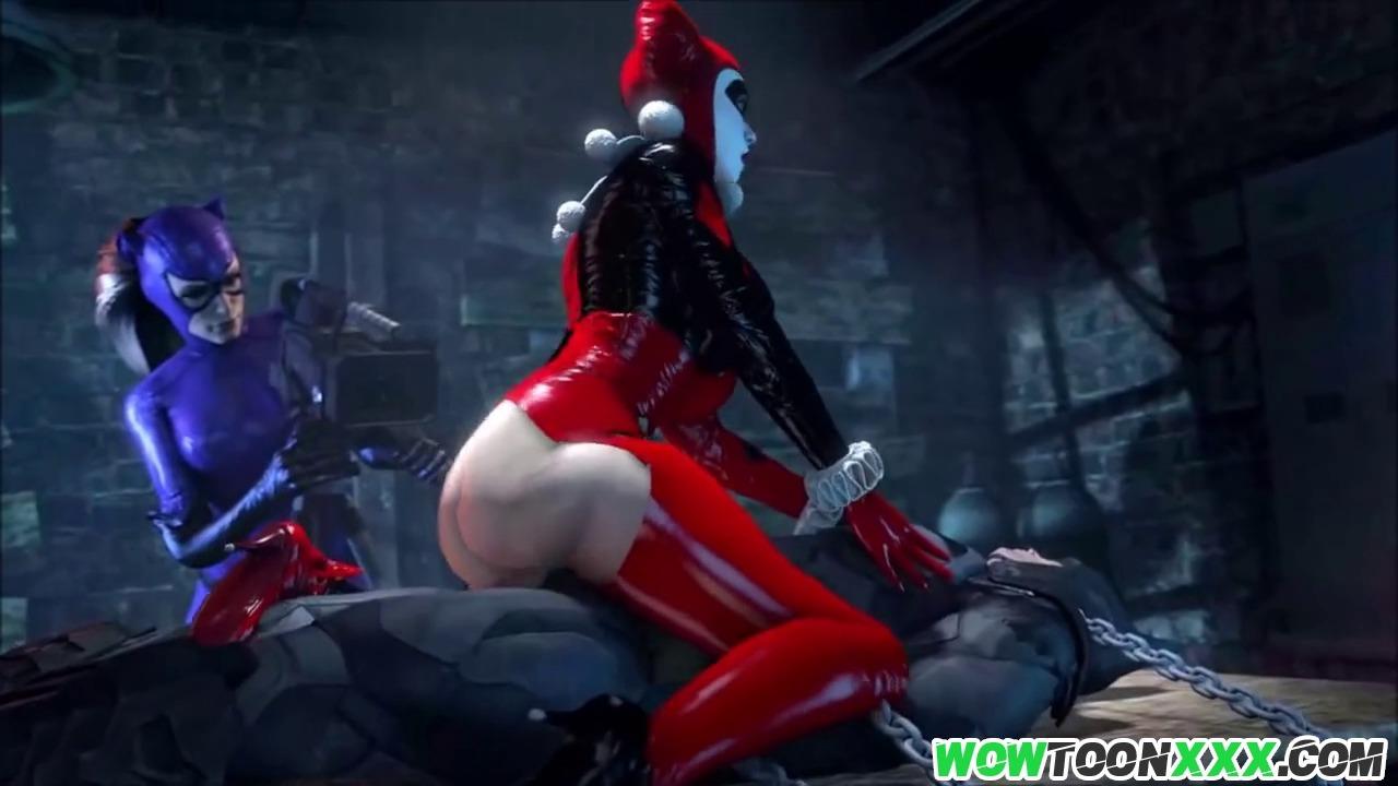 Harley Quinn Joker Lesbian