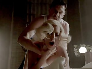 Lady Gaga Doggy Style Choking Sex Scene at ScandalPost.com