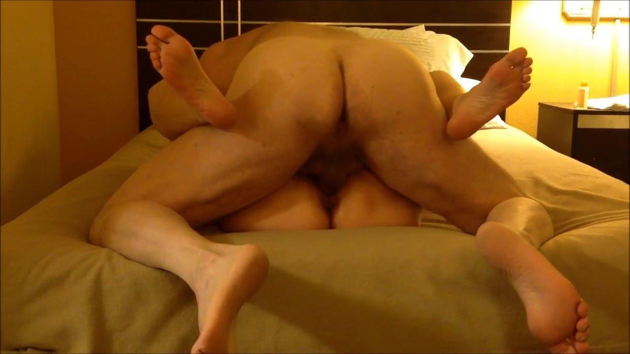Tranny top fucks man in ass