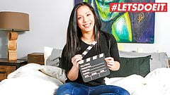 LETSDOEIT - ASIAN Teen Suky FIRST AUDITION For Porn