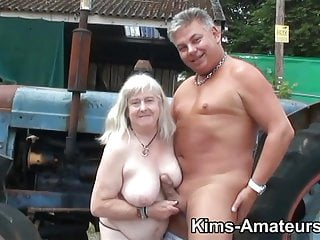 Gay coach gives a physical - 72 year old granny gives a blowjob and gets fucked
