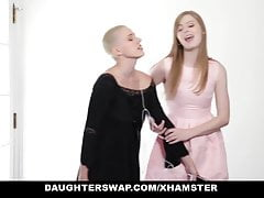 DaughterSwap - Goth Cutie Fucked by Older Guys