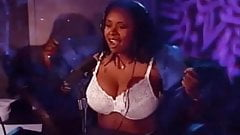 Howard Stern's Robin Quivers Flashing Double G's