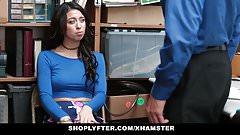 Shoplyfter - Hot Teen Stripped Down, Searched & Fucked