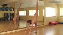 Gymnast Lata Pavlova clip2