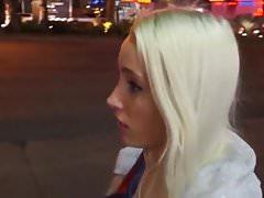 Beautiful Slim German Blonde Picked Up On The Street
