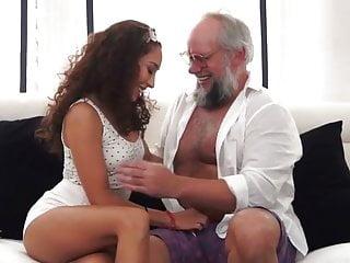 Dirty Grandpa With Latina Girl