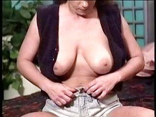Mommy masturbates and gets fucked