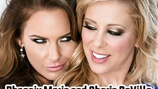 Lessons In Anal - Phoenix Marie, Cherie DeVille