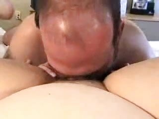 Guys Eats BBW Pussy Like It's His Last Meal!