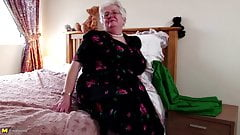 Super granny with big boobs an
