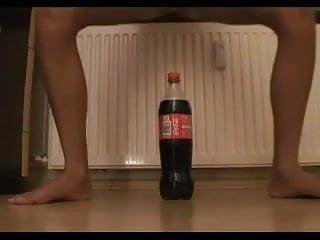 Coke cola bottle in pussy porn commit