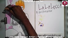 Coloring LaLaLucca at DarkprinceArmon Art