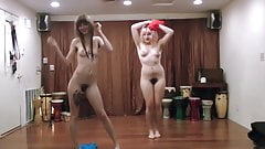 Two Girls Dancing