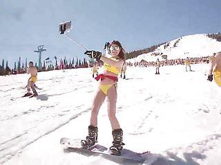Snowboard Bikini Russia 2017