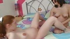2 Pregnant Lesbian Girls