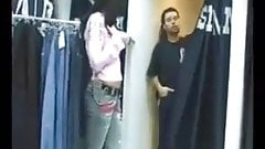 Amateur Fuck in the Change Room