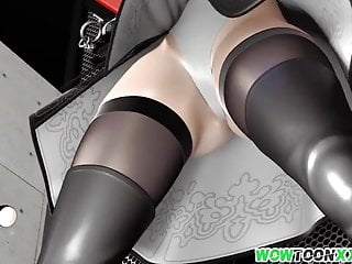 Download video bokep White hair 3D babe gets pussy pleased Mp4 terbaru