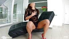 Nikki Waine in creampie scene with dripping hot jizz by All