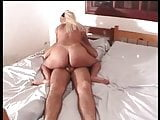 Cute babe enjoys as her pink tight pussy gets licked and banged