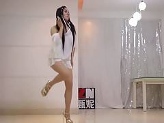 Girl in extremly short and transparent dress and high heels's Thumb