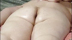 PAWG Sweet Thick Hairy Ass Rubdown