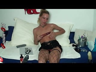 Eine Nacht in meiner WebCam 1 - Passion-Girl German Amateur