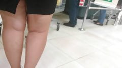 Sexy curvy legs high heels