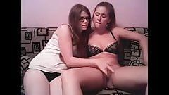 Lesbians fingering and eating